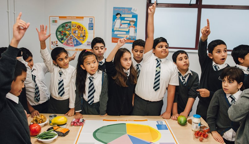Teaching food in primary: the why, what and how (NI)